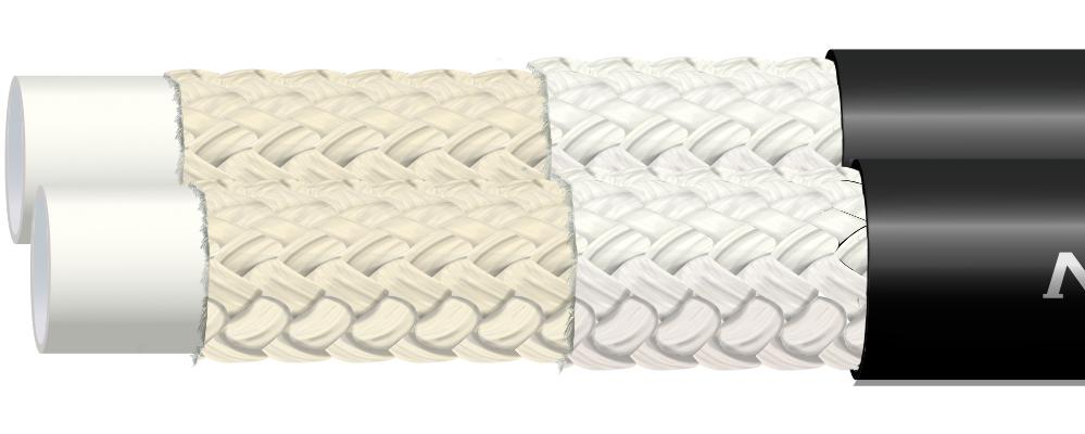 Wąż termoplastyczny w oplocie tekstylnym R7 TWIN NORTH FIGHTER®
