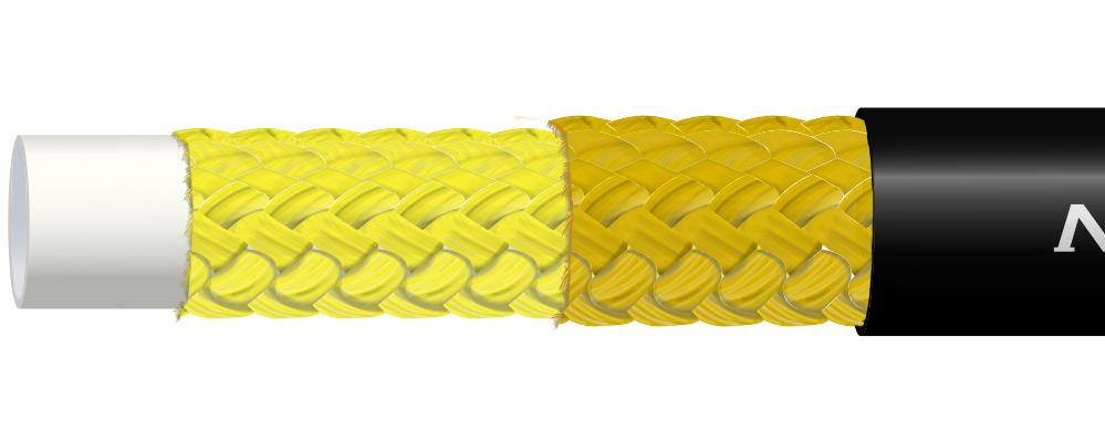 Wąż termoplastyczny w oplocie amaridowym