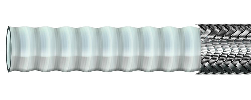 Wąż teflonowy KARBOWANY PTFE