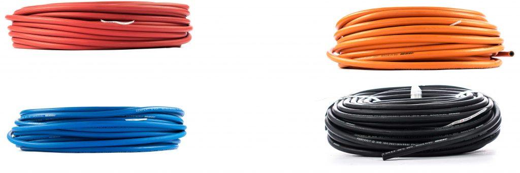 węże przemysłowe, spawalnicze do gazów aron azot tlen propan butan SEMPERIT