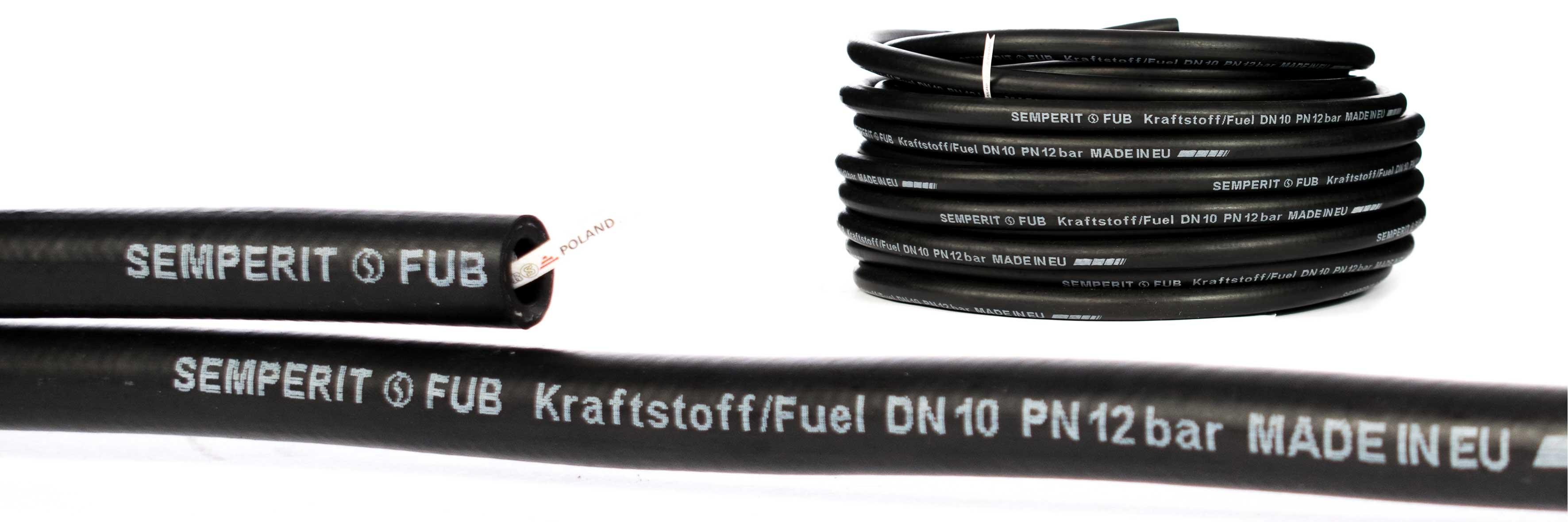 Wąż do oleju napędowego i benzyny, do motoryzacji, przemysłowy FUB Semperit DPRS Poland