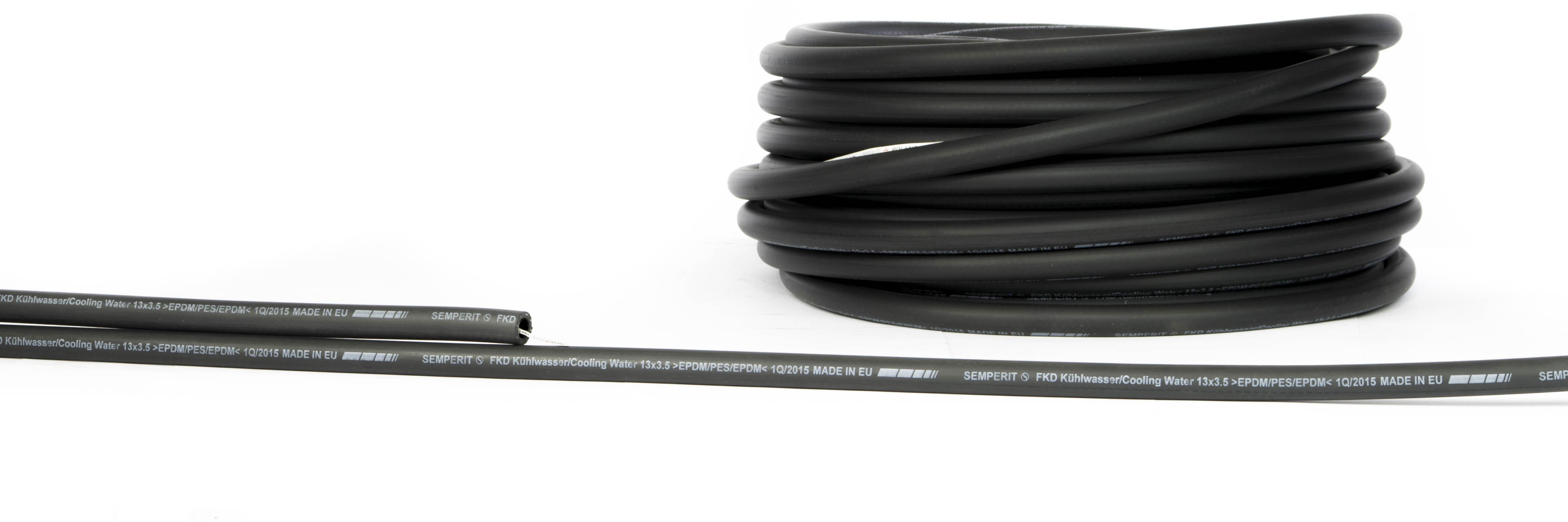 Wąż przemysłowy do gorącej wody, wąż do układów chłodzenia FKD-R semperit